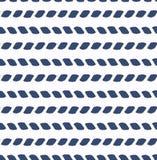 Insieme del modello senza cuciture di vettore del mare blu e bianco Elementi di progettazione dell'album per ritagli Struttura di Immagine Stock Libera da Diritti