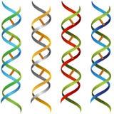 Insieme del nastro del DNA Immagini Stock