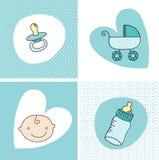 Insieme del neonato Fotografia Stock Libera da Diritti