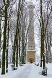Insieme del palazzo e del parco di Homiel'della torre dell'allerta, Bielorussia Immagini Stock Libere da Diritti