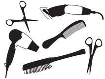 Insieme del parrucchiere illustrazione vettoriale
