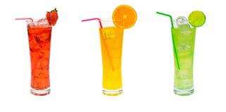 Insieme del partito di cocktail Immagini Stock Libere da Diritti