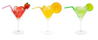 Insieme del partito di cocktail Immagini Stock