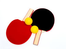Insieme del pong di rumore metallico Fotografia Stock Libera da Diritti