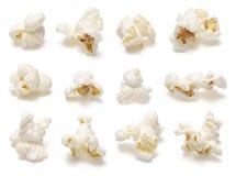Insieme del popcorn Fotografia Stock Libera da Diritti