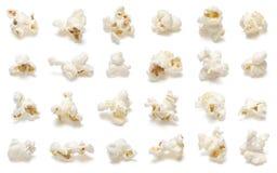 Insieme del popcorn Immagine Stock