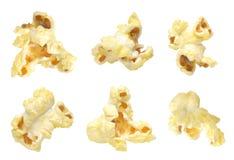 Insieme del popcorn Fotografia Stock