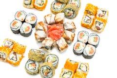 Insieme del rotolo di sushi Immagine Stock
