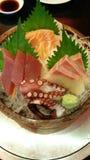 Insieme del sashimi Immagine Stock Libera da Diritti