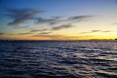 Insieme del sole di Miami Fotografia Stock Libera da Diritti