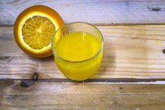 Insieme del taglio delle arance Fotografia Stock