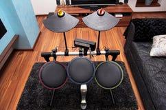 Insieme del tamburo Fotografie Stock