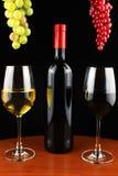 Insieme del vino Immagini Stock