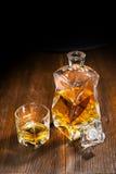 Insieme del whiskey Fotografia Stock Libera da Diritti