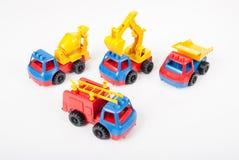 Insieme dell'automobile del giocattolo Fotografie Stock Libere da Diritti