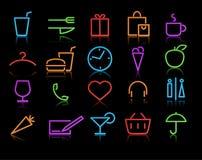 Insieme dell'icona Immagine Stock
