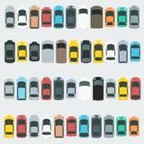 Insieme dell'icona dell'automobile Immagini Stock Libere da Diritti