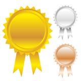 Insieme dell'icona dei premi royalty illustrazione gratis