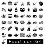 Insieme dell'icona dell'alimento Immagini Stock Libere da Diritti
