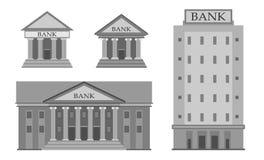 Insieme dell'icona della costruzione della Banca Immagini Stock