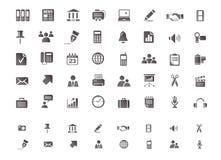 Insieme dell'icona di web Fotografie Stock Libere da Diritti