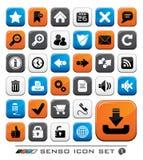 Insieme dell'icona di Web Immagine Stock Libera da Diritti