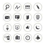 Insieme dell'icona di web, bottoni di web Immagine Stock Libera da Diritti
