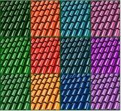 Insieme dell'illustrazione delle mattonelle Fotografia Stock