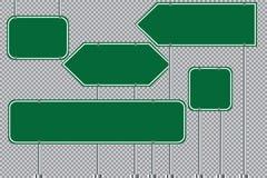 Insieme dell'illustrazione di vettore dei segnali stradali eps10 illustrazione vettoriale