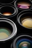 Insieme dell'obiettivo Fotografie Stock Libere da Diritti