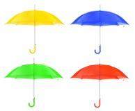 Insieme dell'ombrello Fotografia Stock
