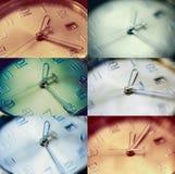 Insieme dell'orologio Fotografie Stock Libere da Diritti