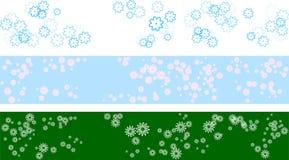 Insieme della bandiera della sorgente Fotografie Stock Libere da Diritti