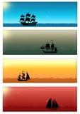 Insieme della bandiera di Web royalty illustrazione gratis