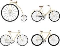 Insieme della bicicletta Fotografia Stock
