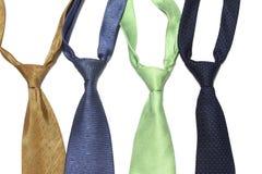 Insieme della cravatta Immagine Stock