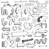 Insieme della freccia Illustrazione di Stock