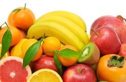 Insieme della frutta Immagini Stock Libere da Diritti