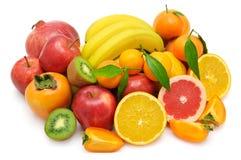 Insieme della frutta Fotografie Stock Libere da Diritti