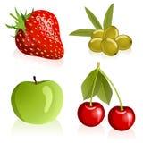 Insieme della frutta royalty illustrazione gratis