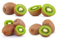 Insieme della frutta di kiwi matura Immagine Stock