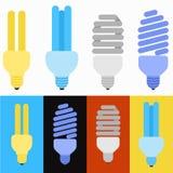 Insieme della lampada Immagini Stock Libere da Diritti