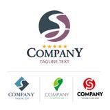 Insieme della lettera S di logo Fotografie Stock Libere da Diritti