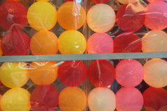 Insieme della luce variopinta della palla da vendere Fotografia Stock Libera da Diritti