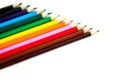 Insieme della matita di colore Immagini Stock Libere da Diritti