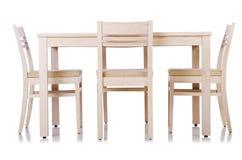 Insieme della mobilia Fotografie Stock