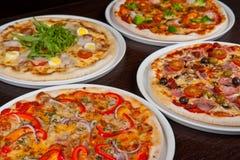 Insieme della pizza Immagine Stock