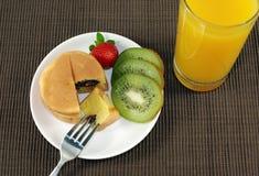 Insieme della prima colazione Immagini Stock