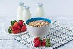 Insieme della prima colazione Immagine Stock Libera da Diritti