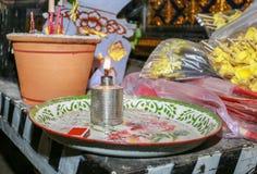 Insieme della tavola dell'altare Immagine Stock Libera da Diritti